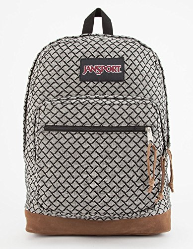 jansport-unisex-right-pack-expressions-black-white-fish-scale-jacquard-backpack