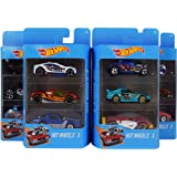 hot wheels 3 cars set, designs may vary- Multi color