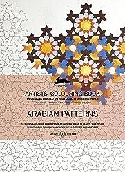 Livres de coloriage Artistes de Pepin : Arabian patterns
