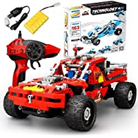 AmaMary DIY RC Car Kit, DIY Building Bricks Remote Control Racing Car - Compare prices on radiocontrollers.eu