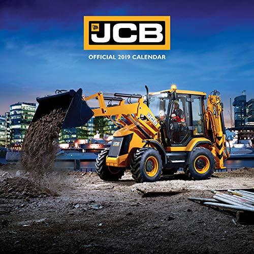 JCB Baggers 2019 Kalendar/Wand-Quadratisch, 30 x 30 cm, versiegelt, inkl. gratis