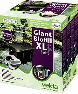 Velda Giant Biofill XL Set 12000 für 40.000 Liter , Großer Durchflussfilter mit Kassetten + Zubehör NEU&OVP Teich