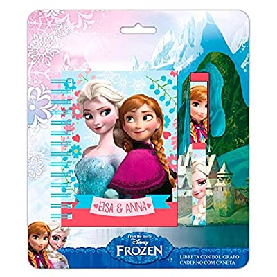 Blister libreta boligrafo Frozen Disney por Rein des Neiges