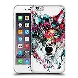 Offizielle Riza Peker Wolf Tiere Soft Gel Hülle für Apple iPhone 6 Plus / 6s Plus