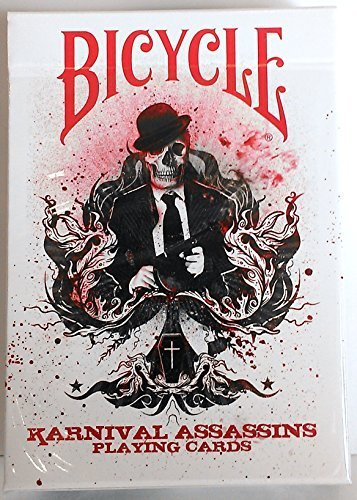 karnival-assassins-red-deck-bicycle-playing-cards-2-nd-edition