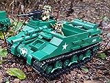 HMC M7 Priest Panzer WWII USA Army, Konstruktionsspielzeug Baukasten