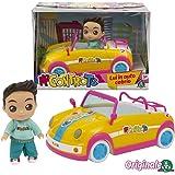 Me Contro Te- Giochi Preziosi Mini Doll 12 cm Luì in Auto Cabrio, Multicolore, MEC30000