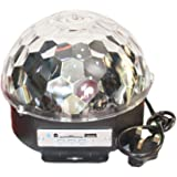 Mp3 Led Crystal Magic Ball Stage Light, Bluetooth Disco Dj Party Lights, Multi Color