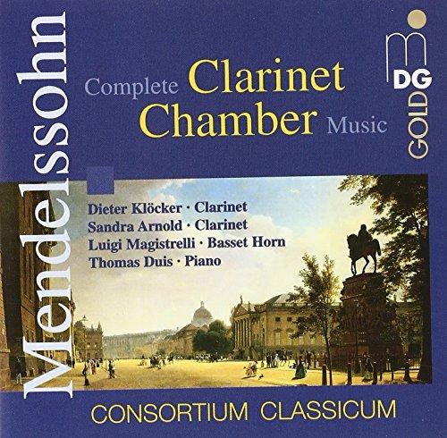 Kammermusik mit Klarinette von Mendelssohn und Baermann