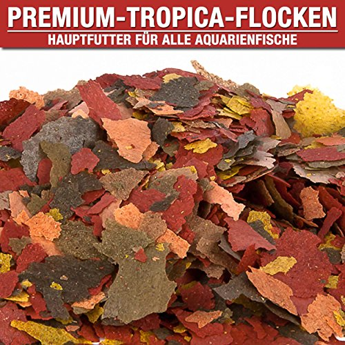 Premium Flockenfutter Tropica Hauptfutter (3 Liter)