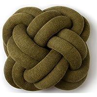 Knot cuscino, Tessuto, verde,