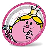 Little Miss Princess Party Plates - Pack Of 8