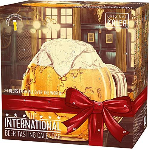 Kalea Bieradventskalender internationale Biere und 1 Verkostungsglas