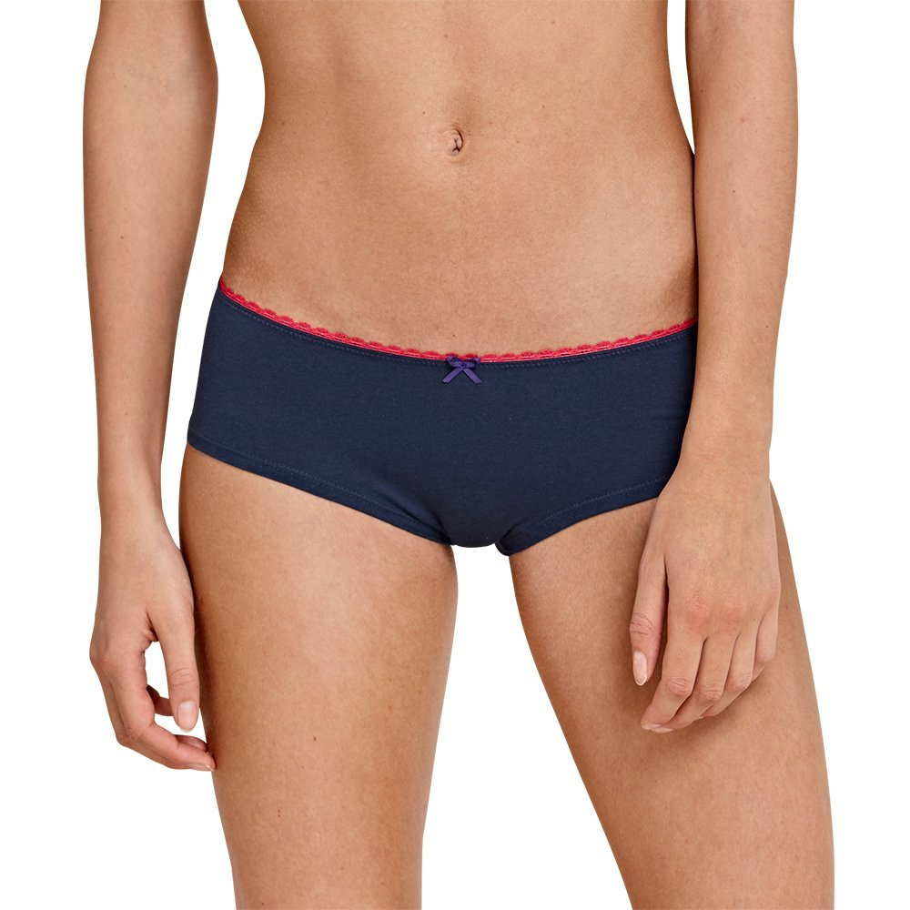 Uncover by Schiesser Uncover 3pack Bikini Hipster, Spiaggia Donna, Multicolore (Sortiert 1 901), 40