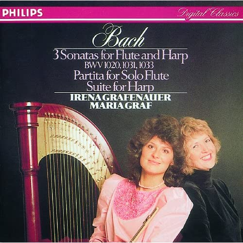 J.S. Bach: Sonata No.2 in E flat major, BWV 1031 - For Flute and Harp - 2. Siciliano