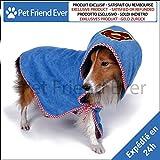★ Badetuch Bademantel für Hunde petfriendever ★ Premium-Qualität–Große Größe