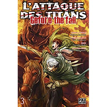 L'Attaque des Titans - Before the Fall T03