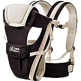 GudeHome Babybärare 4 positioner ryggsäck, framåtvändig, känguru och sele lätt bärsele