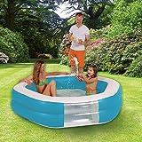 Planschbecken Pool HEXAGON GIANT 10090 blau