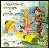 Livre-Disque Arlequin, Pierrot et Colombine (Vinyle 45 Tours)