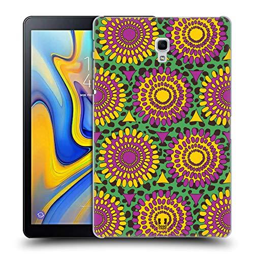 Head Case Designs Afrikanische Blumen Multikulturelle Ethnische Drucke Ruckseite Hülle für Samsung Galaxy Tab A 10.5 (2018)