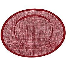 Base Ronda del Sombrero Fundación de Sombrerería 31cm Varios Colores - color rojo vino