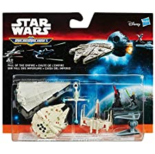 Hasbro B3496EU4 - Star Wars E7 Micro Machines Fahrzeug Multi-Pack, sortiert