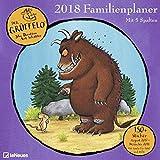 Der Grüffelo 2018 - Kinderkalender, Familienplaner mit 6 Spalten und Stickern, 17-Monate  -  30 x 30 cm
