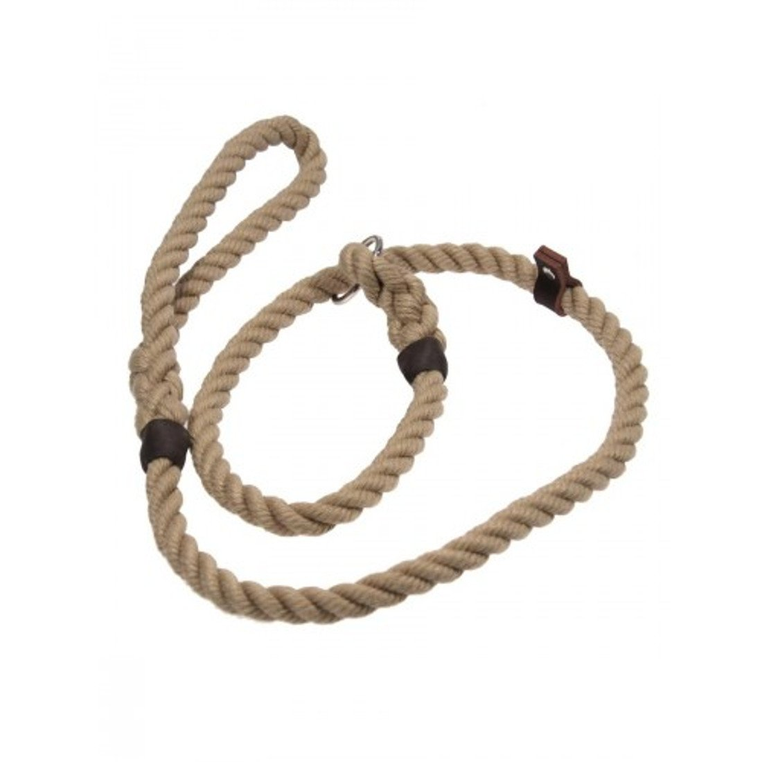 Bisley 10mm Natural Rope Slip Lead – Dog Training – Gun Dogs – Working Dogs-