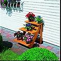 PROMADINO Blumentreppe, 3 Stufen 50 cm x 60 cm x 56 cm von baumarkt direkt bei Du und dein Garten