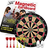 Fun Adams 16 inch Magnetic Dartboard with Safe - Best Reviews Guide