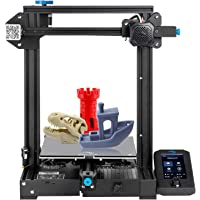 3 idea Imagine Create Print tpu Creality Ender 3 V2 ORIGINAL Upgraded Version 3D Printer (Black, Pack of 1) Unisex
