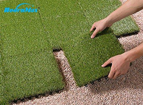 Bodenmax erba sintetica fare clic su piastrelle per pavimenti