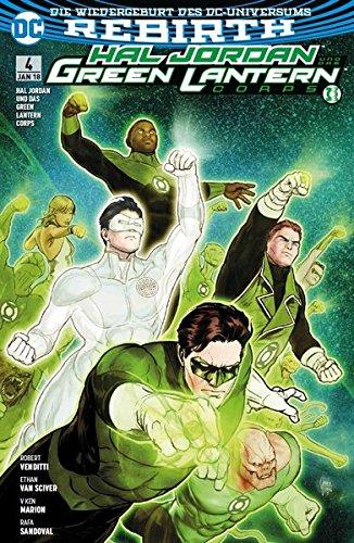 Hal Jordan und das Green Lantern Corps: Bd. 4: Suche nach Hoffnung (Jordan Lantern Hal Green)