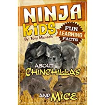 Fun Learning Facts About Chinchillas and Mice: Illustrated Fun Learning For Kids (English Edition)