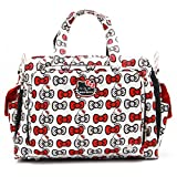 Ju-Ju-Be 14MB01HK-HPK-NO SIZE Be Prepared Hello Kitty - Wickeltasche, Umhängetasche, Zwillingstasche, 47 x 16.5 x 35.5 cm, Peek A Bow