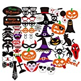PBPBOX-Photo-Booth-Atrezzo-de-Halloween-52-Piezas-Kit