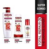 L'Oreal Paris Total Repair 5 Conditioner, 175ml (With 10% Extra) And L'Oreal Paris Total Repair 5 Shampoo, 640ml (With…