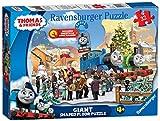 Ravensburger Thomas und Freunde, Weihnachtspuzzle mit Türanhänger, 32 Teile