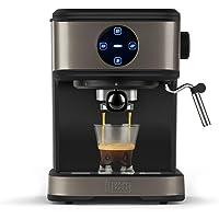 BLACK + DECKER BXCO850E - Macchina da caffè espresso, 20bar, 1 o 2 caffè, funzione vapore, stop automatico, quantità…