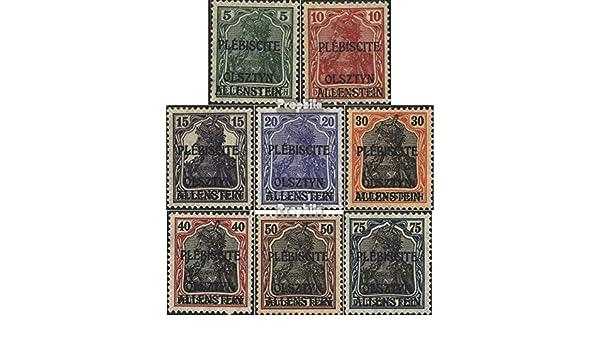 Prophila Collection Allenstein 20 Verschiedene Marken Briefmarken f/ür Sammler