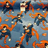 Midtex 100% Baumwolle DC Wunder Comic Superman Craft Stoff