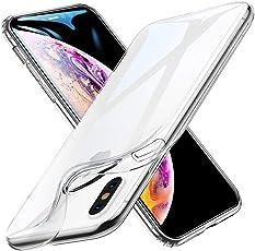 "iPhone Xs Max Cover Case, ESR Slim Clear Soft TPU iPhone Xs Max Case Back Cover for iPhone Xs Max 6.5"" (Transparent Clear)"