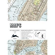 Maps: Gift & Creative Paper Book Vol. 60 (Gift & Creative Paper Books)