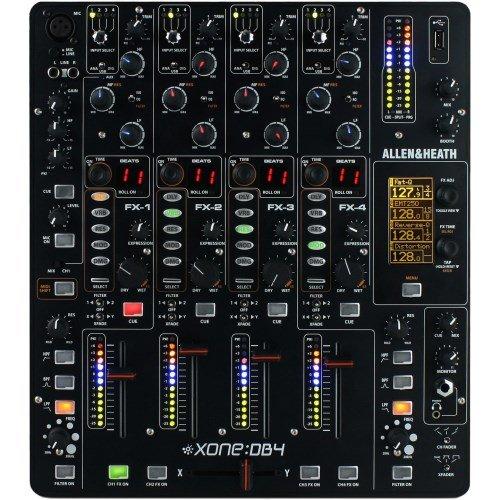 Allen Heath Xone DB4Mélangeur DJ numérique FX Effets