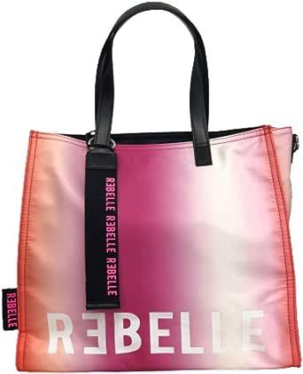 Rebelle borsa in nylon fuxia free to choose.