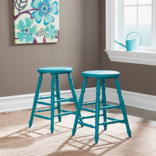 counter-stool-in-blue-finish-set-of-2