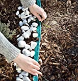 Royal Gardineer Regen Perlschlauch: Schlauch-Regner zur Garten-Bewässerung, flach, 15 m (Gartenregner Schlauch) - 2