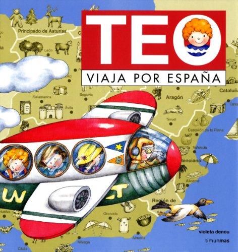 Teo viaja por España por Violeta Denou