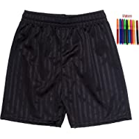 ONLYuniform Shadow Stripe Gym Sports Games School PE Shorts Unisex